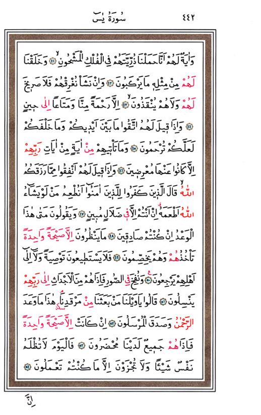 Yasin Suresi, sayfa 4