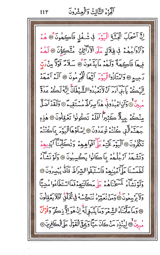 Yasin Suresi, sayfa 5